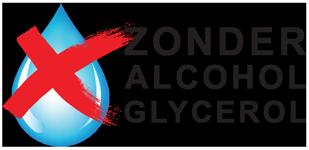 100% zonder alcohol en/of glycerol